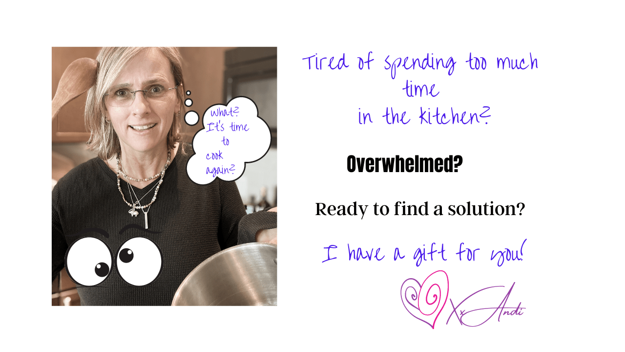 Spending to much time in the kitchen?